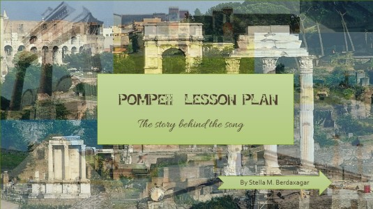Pompeii Lesson Plan