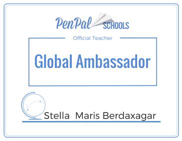 Stella Maris Berdaxagar, Global Ambassador, Argentina
