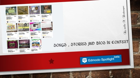 Songs,Stories and Bios in Context