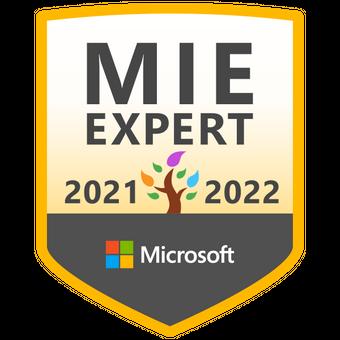Microsoft Innovative Educator Expert 2021-2022